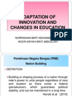 chap6 innovation and changes in education