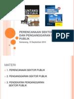 Perencanaan Sektor Publik Dan Penganggaran