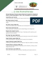 Why Use Aromatherapyq