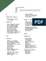 Chichester Psalms - traducción