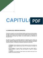 Derecho municipal conceptos