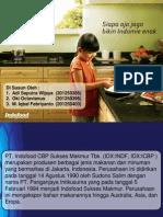 analisis PT Indofood - Indomie