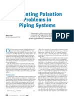 Preventing Pulsation Problem
