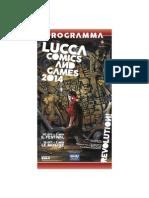 Programma Lucca Comics & Games 2014