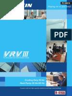 DAIKIN PCV0915 (VRVIII) CATALOG Selection Malaysia