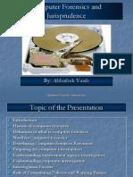 Computer Forensics and Jurisprudence