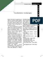Vocabulaire Mine Français Anglais Espagnol Italien Allemand