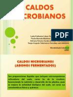 caldos microbianos