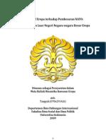 Makalah DKE Perspektif Eropa Terhadap Pembesaran NATO; Studi Kebijakan Luar Negeri Negara-Negara Besar Eropa