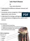 25) Aetiology and Pathogenesis of Valvular Heart Disease