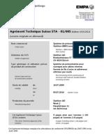 Zulassung Sta-01 005 Bbrv Franz