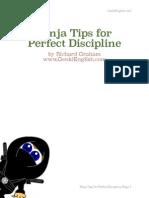 Ninja Tips for Perfect Discipline Book