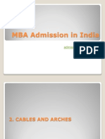 MBA Admission in India