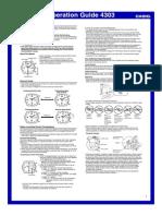 Manual Casio RadioControlado