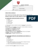 Guía de Lenguaje Conectores