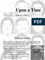 10. Once Upon a Time - Gabriel Okara