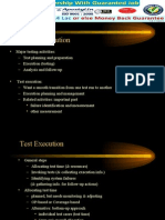 Test Case Execution in Software Testing