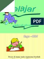 TEORI BELAJAR (STUDY THEORY)