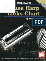 Blues Harp Licks Chart