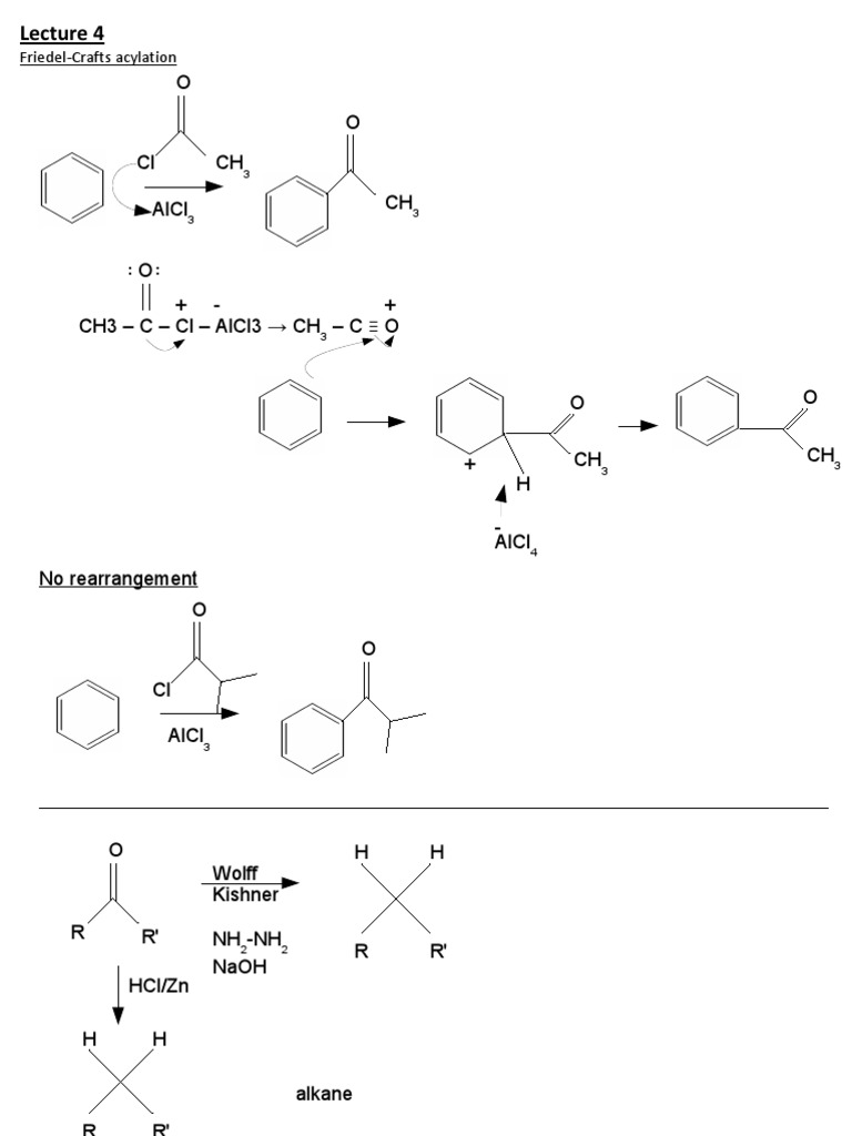 Friedel Crafts Acylation | Chemical Reactions | Physical Chemistry
