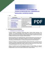 Informe Diario Onemi Magallanes 05.11.2014