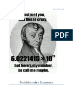 stoichiometry summary