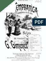 La TempranicazARZUELA