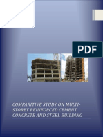 Comparative Study on Rcc & Steel Building