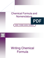 Chemical Formula and Nomenclature