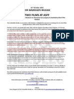 Press Release_Two Films at Asff