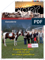 PODER AGROPECUARIO - GANADERIA - N 15 - JULIO 2012 - PARAGUAY - PORTALGUARANI