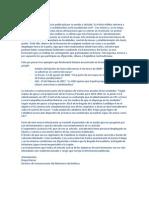 Carta de Defensa a Público