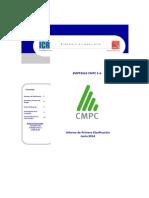 Empresas CMPC - Informe de Primera Clasificación - Junio 2014