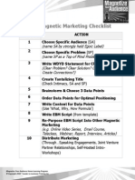 Magnetic Marketing Checklist