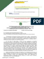 Circular 175 de 2005 - Procedimentos de Verificação