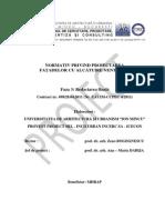 Normativ Fatade Ventilate - Redactare Finala
