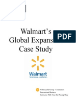 Walmart's Global Expansion Case Study