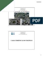 Engenharia de Transportes i - Aula 07 - Contagem de Tráfego