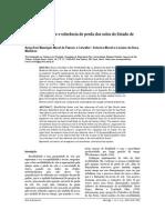 Fator erodibilidade e perda de solos no Estado de São Paulo