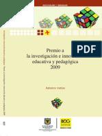 Premio a La Investigacion e Innovacion 2009