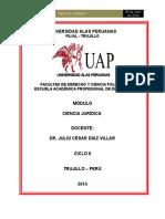 Módulo de Ciencia Jurídica - 2014 (Completo)