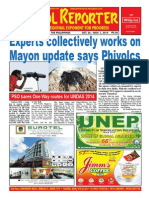 Bikol Reporter October 26 - November 1 Issue