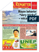 Bikol Reporter November 2 - 8 Issue