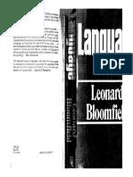 Leonard Bloomfield - Language