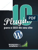 [eBook] 10 Plugins Para o SEO Do Seu Site