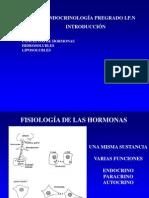 INTRODUCCIÓN HORMONAS 2011