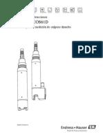 E+H Oximetro COS61D (Manual De Instrucciones)