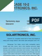 Case 10.2- Solartronic SPM