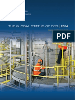 Summary of the Global Status CCS report 2014
