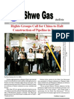 Shwe Gas Bulletin the Latest Issue